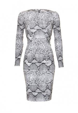Платье Ksenia Knyazeva. Цвет: серый