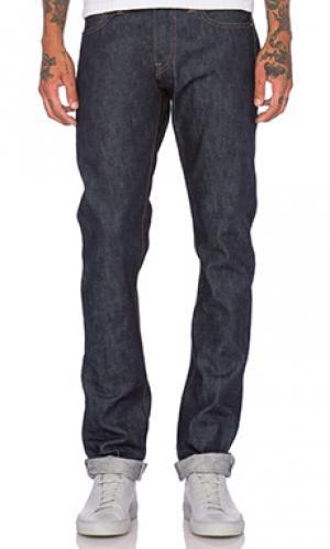 Облегающие джинсы sk 14.5oz Rogue Territory. Цвет: none
