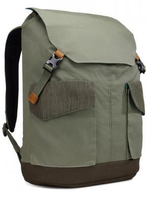 Рюкзак Case Logic LoDo для ноутбука. Цвет: серо-зеленый