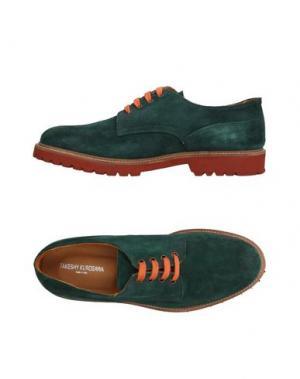 Обувь на шнурках TAKESHY KUROSAWA. Цвет: темно-фиолетовый