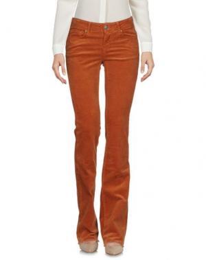 Повседневные брюки CIMARRON. Цвет: коричневый
