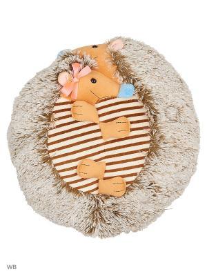 Мягкая игрушка Неразлучники Ежики 3.24.1-2 цвет бежевый, белый Malvina. Цвет: бежевый, белый