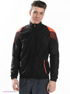 Ветровка F50 WOV JKT Adidas. Цвет: черный, оранжевый