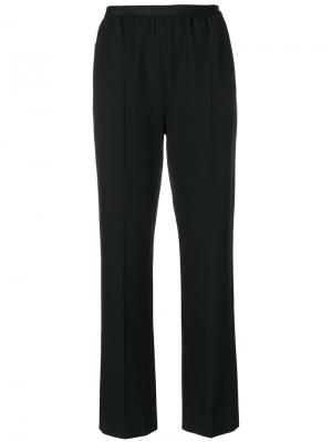 Классические брюки Maison Margiela. Цвет: чёрный