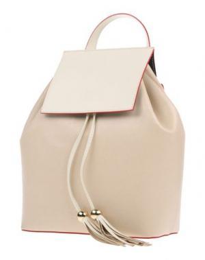 Рюкзаки и сумки на пояс FRANCO PUGI. Цвет: слоновая кость
