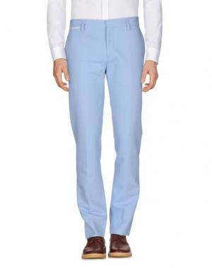 Повседневные брюки MARC JACOBS. Цвет: лазурный
