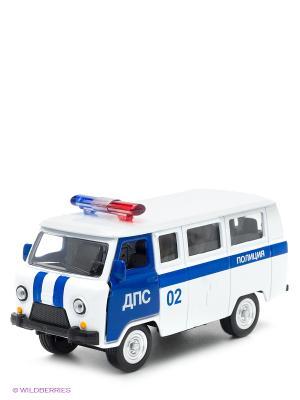 Машина Технопарк  УАЗ полиция дпс. Цвет: белый