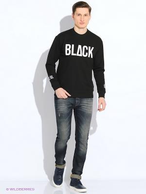 Свитшот ZIQ&YONI. Цвет: черный, белый