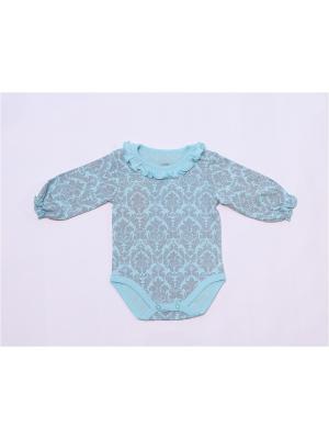 Боди batik. Цвет: голубой