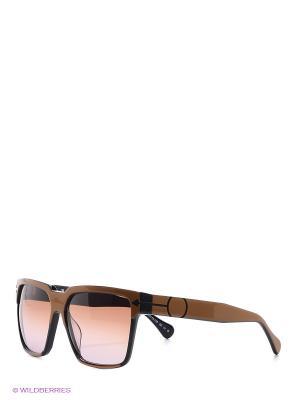 Очки солнцезащитные TM 532S 02 Opposit. Цвет: черный, коричневый
