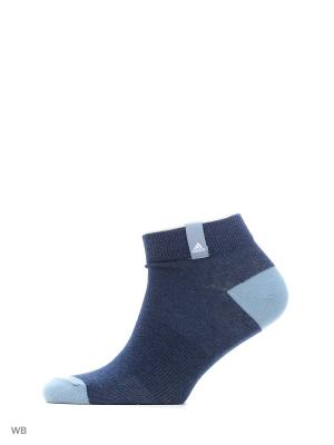 Носки PER LA ANKLE 3P  MYSBLU/MGREYH/TACBLU Adidas. Цвет: синий, серый, голубой