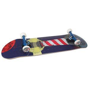 Скейтборд в сборе  Mayak Denim/Red/White Nord. Цвет: синий,красный,белый