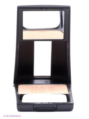 Компактная пудра т3 песочный Make up factory. Цвет: бежевый, черный