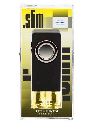 Ароматизатор в дефлектор Slim Тутти-фрутти AZARD. Цвет: черный