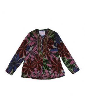 Блузка CUSTO GROWING. Цвет: черный