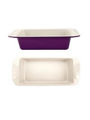 Форма для выпечки 30х15,5х7см Augustin Welz. Цвет: фиолетовый, молочный
