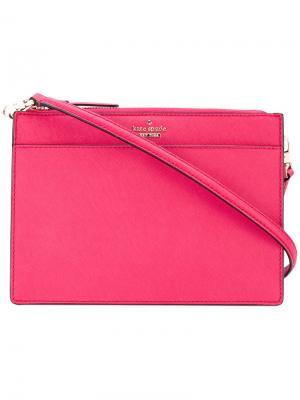 Сумка через плечо Clarise Kate Spade. Цвет: розовый и фиолетовый