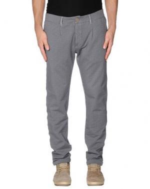 Повседневные брюки PRAIO. Цвет: стальной серый