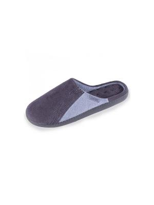 Тапочки Isotoner. Цвет: синий, голубой