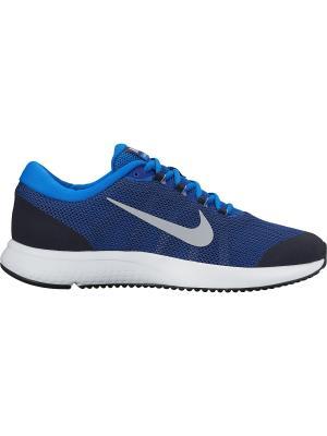 Кроссовки Nike. Цвет: лазурный, серый