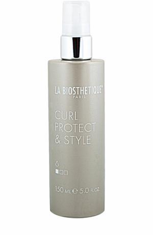 Термоактивный спрей для укладки и защиты волос La Biosthetique. Цвет: бесцветный