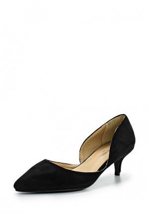 Туфли Coco Perla. Цвет: черный