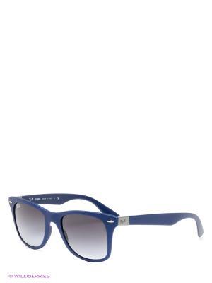 Очки солнцезащитные WAYFARER LITEFORCE Ray Ban. Цвет: синий