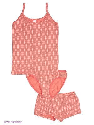 Комплект HAYS. Цвет: коралловый