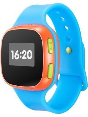 Смарт-часы SW10 Alcatel. Цвет: голубой, красный