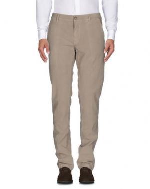 Повседневные брюки HEAVEN TWO. Цвет: песочный