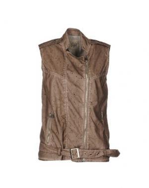 Куртка JIJIL. Цвет: светло-коричневый