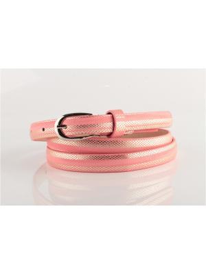 Ремень женский IND-0143 INDIVIDUUM. Цвет: розовый
