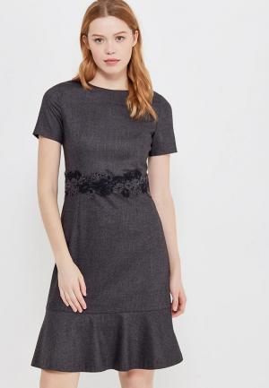 Платье Devore. Цвет: серый