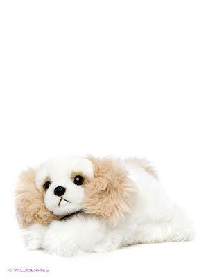 Мягкая игрушка Коккер-спаниель Aurora. Цвет: белый, светло-бежевый