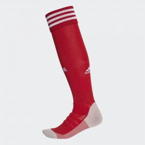 Гостевые игровые гетры сборной России  Performance adidas. Цвет: красный