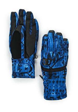 Перчатки DC Shoes. Цвет: синий