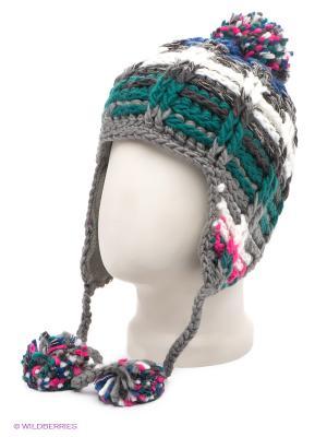 Ушанка Maxval. Цвет: темно-серый, розовый, белый, синий, зеленый