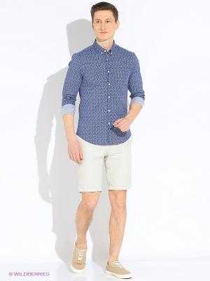 Рубашка MEXX. Цвет: синий, голубой