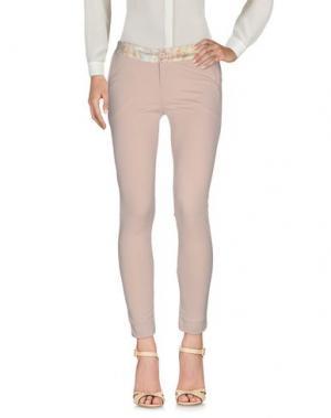 Повседневные брюки MIVITE. Цвет: бежевый