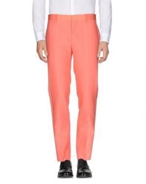Повседневные брюки MARC JACOBS. Цвет: коралловый