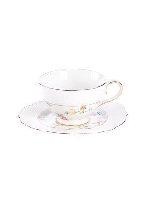 Набор чайный 2 предмета 200 мл. PATRICIA. Цвет: белый