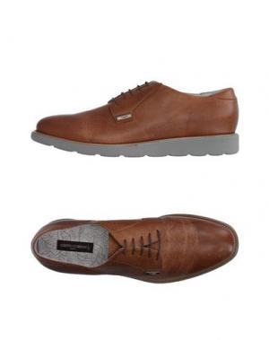 Обувь на шнурках GUARDIANI DRIVE. Цвет: верблюжий