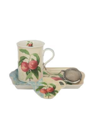 Набор для чаепития Nuova R2S. Цвет: белый, голубой