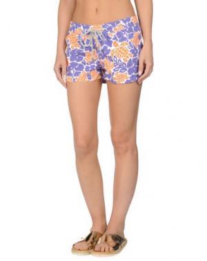 Пляжные брюки и шорты VILEBREQUIN. Цвет: фиолетовый