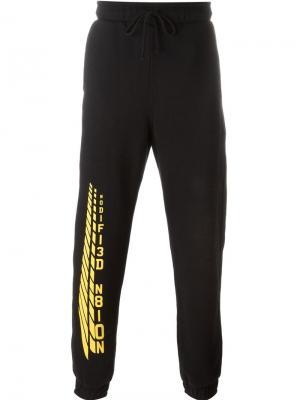 Спортивные брюки MODIFI3D N8ION Liam Hodges. Цвет: чёрный