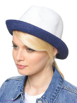 Шляпа Ваша Шляпка. Цвет: белый, темно-синий