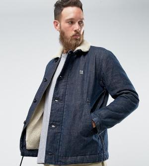 Edwin Джинсовая куртка. Цвет: синий