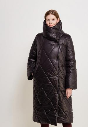 Куртка утепленная SK House. Цвет: черный