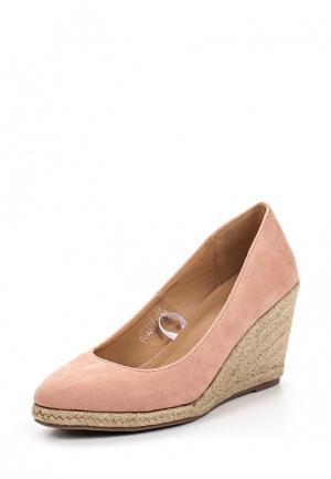 Туфли Catisa. Цвет: розовый