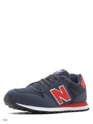 Кроссовки NEW BALANCE 500. Цвет: темно-синий